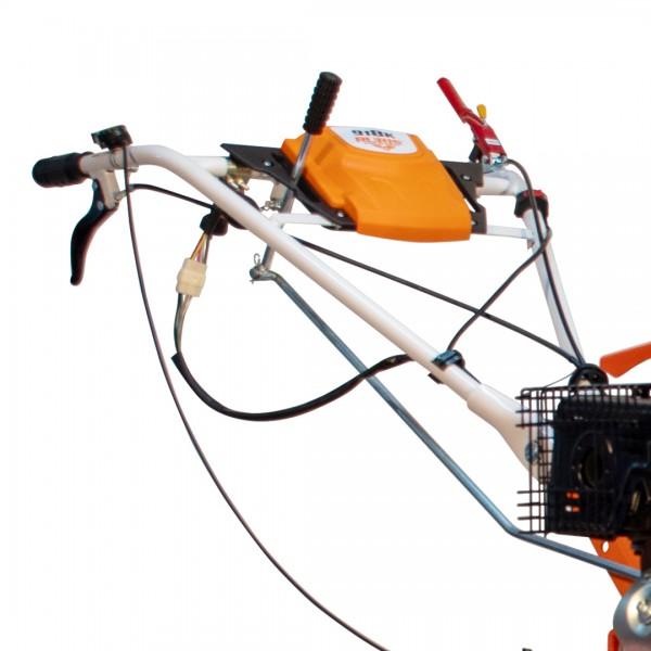 Motosapatoare RURIS 918ACC + roti cauciuc 6.00-12 + rarita + plug reversibil rev2 + roti metalice 500