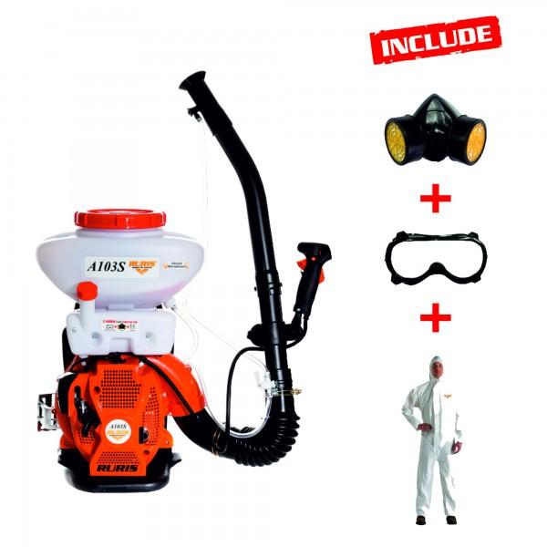 Atomizor RURIS A103S + kit echipament lucru {masca+ochelari+salopeta}