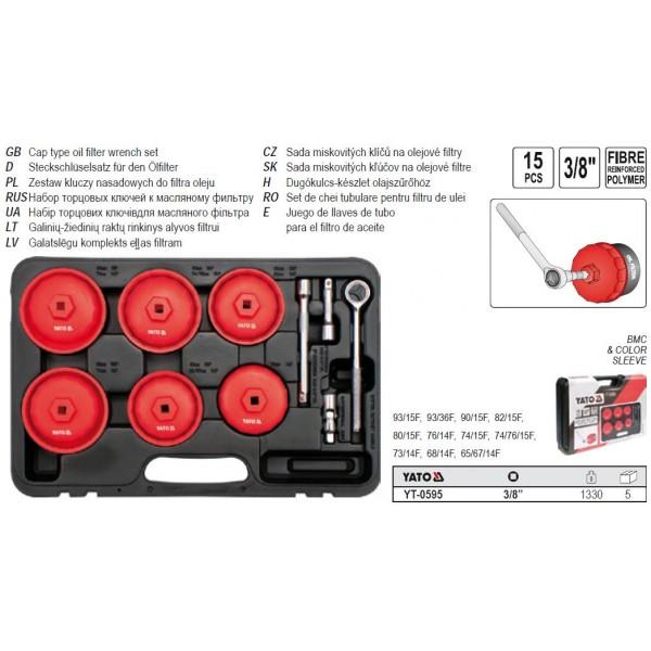 Set chei filtre ulei YT-0595